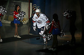 January 9th, 2009:   Cory Murphy (28) of the Rochester Amerks is introduced before a game vs. the Syracuse Crunch at Blue Cross Arena in Rochester, NY.  Rochester defeated Syracuse 3-1 for their third straight win.  Photo Copyright Mike Janes Photography 2009