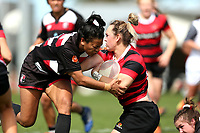 Action from the Farah Palmer Cup Women's Premiership semifinal rugby match between Canterbury and Counties Manukau at Rugby Park in Christchurch, New Zealand on Sunday, 20 October 2019. Photo: Martin Hunter / lintottphoto.co.nz