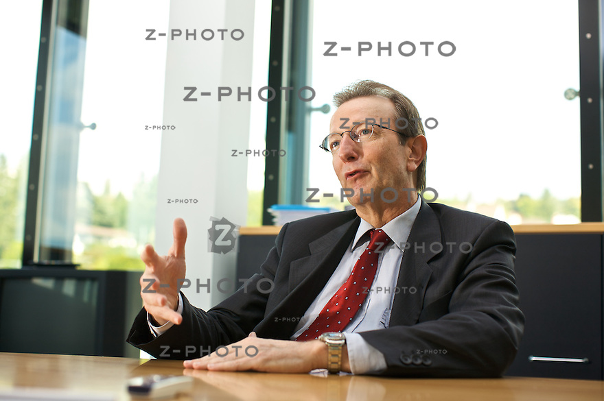 Interview mit Walter Knabenhans, VR-Praesident der Bellevue Asset Management im Hauptsitz in Kuesnacht ZH am 19. September 2008<br /> <br /> Copyright &copy; Zvonimir Pisonic