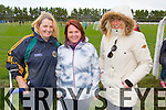 supporters Mary Deenihan, Sarah Breen, Emma O'Neill (Listowel) pictured during half time at the Bernard O'Callaghan Memorial Senior Football Championship final last Saturday Beale V Listowel Emmets