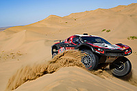 5th January 2020, Jeddah, Saudi Arabia;  315 Serradori Mathieu fra, Lurquin Fabian bel, Century, SRT Racing during Stage 1 of the Dakar 2020 between Jeddah and Al Wajh, 752 km  - Editorial Use