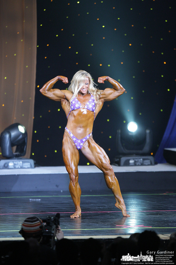 Ms International  from rear of Veterans Memorial stage at 2008 Arnold Sports Festival. Photo Copyright Chris Putman.