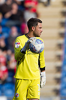 Glenn Morris of Crawley Town during Colchester United vs Crawley Town, Sky Bet EFL League 2 Football at the JobServe Community Stadium on 13th October 2018