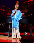 Dionne Warwick performs with a live symphony orchestra at Adrienne Arsht Center-Knight Concert Hall