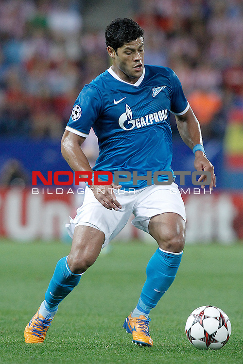 Football Club Zenit's Hulk during Champions League 2013/2014 match.September 18,2013. Foto © nph / Acero)