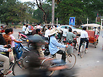 Traffic, Siem Reap, Cambodia