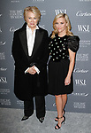 Candice Bergen (left) and Reese Witherspoon arrive at the WSJ. Magazine 2017 Innovator Awards at The Museum of Modern Art in New York City, on November 1, 2017.