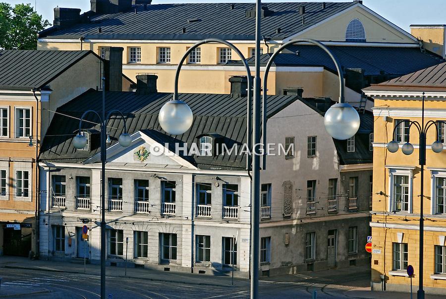 Cidade de Helsinki. Finlândia. 2007. Foto de Vinicius Romanini.