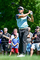 Rafael Cabrera Bello (ESP) watches his tee shot on 10 during round 2 of the Shell Houston Open, Golf Club of Houston, Houston, Texas, USA. 3/31/2017.<br /> Picture: Golffile | Ken Murray<br /> <br /> <br /> All photo usage must carry mandatory copyright credit (&copy; Golffile | Ken Murray)