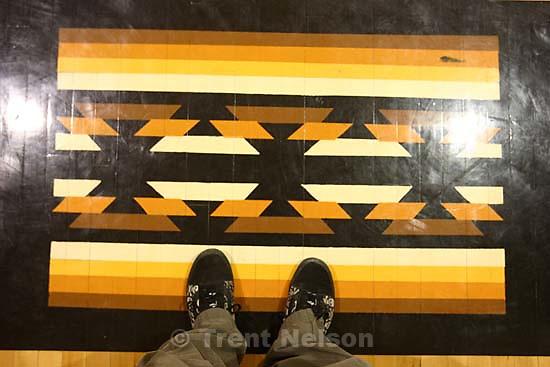 trent feet. Whitehorse high school girls basketball vs. Grand.<br />