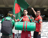 Bangladesh fans before the fixture between Pakistan vs Bangladesh, ICC World Cup Cricket at Lord's Cricket Ground on 5th July 2019