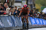 Ide Schelling (NED) climbs Parliment Street on the Harrogate circuit during the Men U23 Road Race of the UCI World Championships 2019 running 186.9km from Doncaster to Harrogate, England. 27th September 2019.<br /> Picture: Eoin Clarke | Cyclefile<br /> <br /> All photos usage must carry mandatory copyright credit (© Cyclefile | Eoin Clarke)