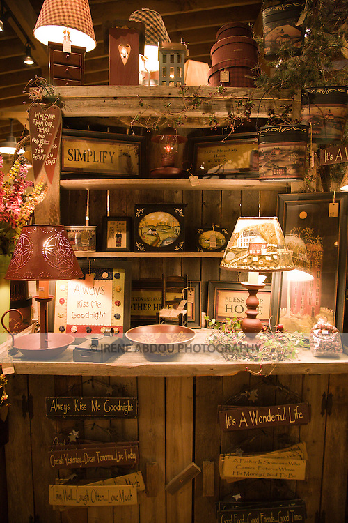 This trading post in a small town at the foot of the Great Smoky Mountains in Tennessee typefies the Southern, rural lifestyle of smalltown America.