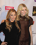 Actress and singer Taylor Dayne performs and poses with Aviva Drescher (Real Housewife of New York) at The 27th Annual Night of a Thousand Gowns benefitting GLAAD and GMHC on April 6, 2013 at The Hilton New York, NYC, NY. (Photo by Sue Coflin/Max Photos)