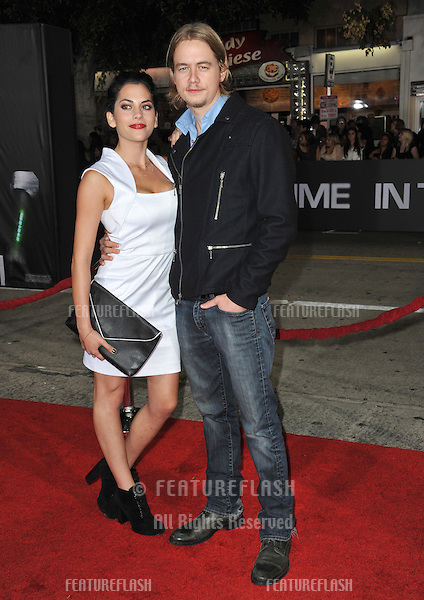 "Christoph Sanders & Inbar Lavi at the Los Angeles premiere of ""In Time"" at the Regency Village Theatre, Westwood..October 20, 2011  Los Angeles, CA.Picture: Paul Smith / Featureflash"