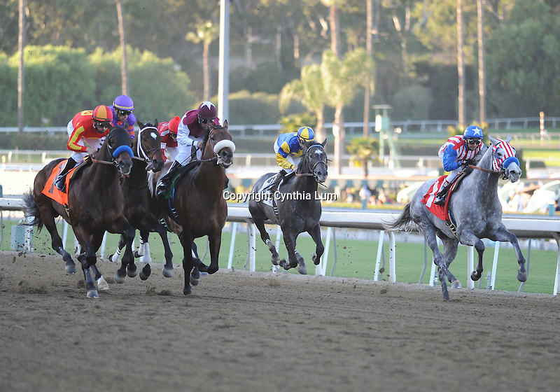 January 15, 2011.Indian Firewater riden by Mike Smith wins The San Fernando Stakes at Santa Anita Park, Arcadia, CA