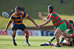 Bayden Morey plays halback. Counties Manukau Premier Club Rugby final between Patumahoe & Waiuku played at Bayers Growers Stadium Pukekohe on Saturday August 8th 2009. Patumahoe won 11 - 9 after leading 11 - 6 at halftime.