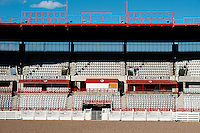 The empty stadium for Cheyenne Frontier Days in Cheyenne, Wyoming, Thursday, June 2, 2011. Frontier Days runs the last full week In July...Photo by Matt Nager