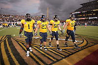 Cal captains, .2008 Emerald Bowl, San Francisco, Calif., Saturday, Dec. 27, 2008. University of California 24, University of Miami, 17.