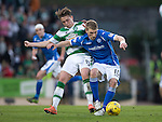 St Johnstone v Celtic&hellip;.McDiarmid Park, Perth.. 11.05.16<br />David Wotherspoon and Scott Allan<br />Picture by Graeme Hart.<br />Copyright Perthshire Picture Agency<br />Tel: 01738 623350  Mobile: 07990 594431