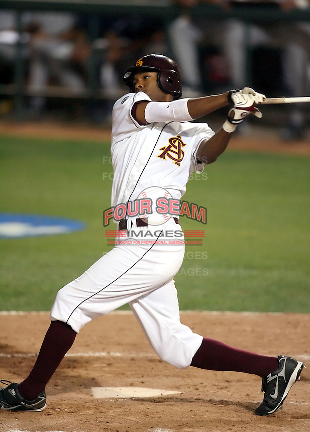 Mike Jones / Arizona State University (2008 season)..Photo by:  Bill Mitchell/Four Seam Images