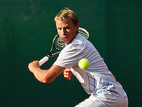 12-08-13, Netherlands, Raalte,  TV Ramele, Tennis, NRTK 2013, National RankingTennis Championships 2013,  Kevin Boelhouwer<br /> <br /> Photo: Henk Koster