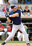 16 March 2007: New York Yankees catcher Todd Pratt in action against the Houston Astros at Osceola County Stadium in Kissimmee, Florida...Mandatory Photo Credit: Ed Wolfstein Photo