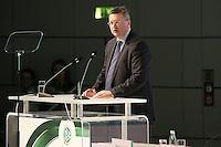DFB-Präsident Dr. Reinhard Grindel - Ausserordentlicher DFB Bundestag, Messegelände Frankfurt,