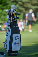 Azahara Munoz's (ESP) bag sits near the green on 2 during round 1 of the 2018 KPMG Women's PGA Championship, Kemper Lakes Golf Club, at Kildeer, Illinois, USA. 6/28/2018.<br /> Picture: Golffile | Ken Murray<br /> <br /> All photo usage must carry mandatory copyright credit (&copy; Golffile | Ken Murray)