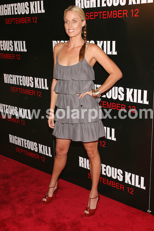 "**ALL ROUND PICTURES FROM SOLARPIX.COM**.**SYNDICATION RIGHTS FOR UK, SPAIN, PORTUGAL, AUSTRALIA, S.AFRICA & DUBAI (U.A.E) ONLY**.arrivals for the ""Righteous Kill"" New York City Premiere held at the Ziegfeld Theater, New York City, NY, USA.. September 09, 2008..This pic: Amanda Beard..JOB REF: 7287 PHZ(Gaboury)    DATE: 09_09_2008.**MUST CREDIT SOLARPIX.COM OR DOUBLE FEE WILL BE CHARGED* *UNDER NO CIRCUMSTANCES IS THIS IMAGE TO BE REPRODUCED FOR ANY ONLINE EDITION WITHOUT PRIOR PERMISSION*"