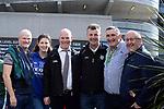 17-1-2017: Michael Fitzpatrick, Carol Fitzpatrick, John Fitzpatrick, John Murrell, Tom Browne and Padraig Lynch at  the All-Ireland Football final at Croke Park on Sunday.<br /> Photo: Don MacMonagle