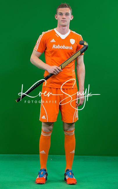 DEN BOSCH - MIRCO PRUYSER . Nederlands Hockeyteam  voor nieuwe platform Hockey.nl.    FOTO KOEN SUYK