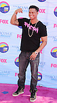 UNIVERSAL CITY, CA - JULY 22: Pauly D arrives at the 2012 Teen Choice Awards at Gibson Amphitheatre on July 22, 2012 in Universal City, California.