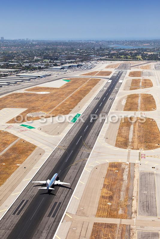 Plane Taking off at John Wayne Airport