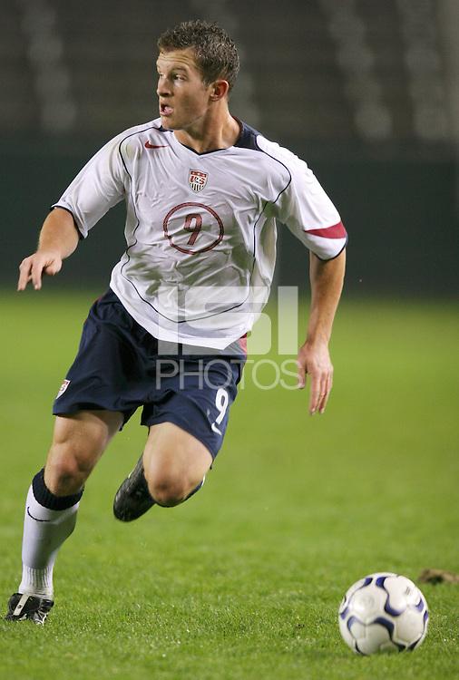 Chad Barrett, USA over Trinidad, 6-1, Wednesday, Jan. 12, 2005, in Carson, California.