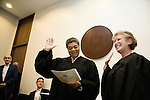 Cook County Judge Abbey Fishman Romanek is sworn in.