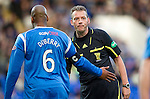 St Johnstone v Celtic.....12.04.11.Ref Iain Brines and Michael Duberry.Picture by Graeme Hart..Copyright Perthshire Picture Agency.Tel: 01738 623350  Mobile: 07990 594431