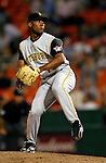 5 June 2007: Pittsburgh Pirates pitcher Salomon Torres in action against the Washington Nationals at RFK Stadium in Washington, DC. The Pirates defeated the Nationals 7-6, in the first game of their 3-game series...Mandatory Credit: Ed Wolfstein Photo