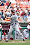 17 May 2007: Atlanta Braves catcher Jarrod Saltalamacchia at bat against the Washington Nationals at RFK Stadium in Washington, DC. The Nationals defeated the Braves 4-3 to take the four-game series three games to one...Mandatory Photo Credit: Ed Wolfstein Photo