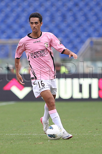 25.09.2011 Rome Italy.   Zahavi in action during the Serie A match between S.S. Lazio and Palermo, played in the Stadio Olimpico Rome.
