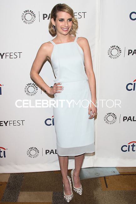 """HOLLYWOOD, LOS ANGELES, CA, USA - MARCH 28: Emma Roberts at the 2014 PaleyFest - """"American Horror Story"""" held at the Dolby Theatre on March 28, 2014 in Hollywood, Los Angeles, California, United States. (Photo by Celebrity Monitor)"""