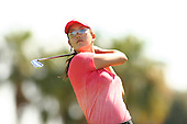 Apr. 2, 2006; Rancho Mirage, CA, USA; Michelle Wie tees off during the final round of the Kraft Nabisco Championship at Mission Hills Country Club. ..Mandatory Photo Credit: Darrell Miho.Copyright © 2006 Darrell Miho .