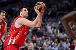 Crvena Zvezda Mts Belgrade's Milko Bjelica during Turkish Airlines Euroleague match between Real Madrid and Crvena Zvezda Mts Belgrade at Wizink Center in Madrid, Spain. March 10, 2017. (ALTERPHOTOS/BorjaB.Hojas)