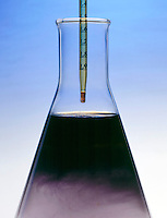 STARCH-IODINE COMPLEX<br /> (Variations Available)<br /> Iodine Solution Is Added To Starch Solution<br /> The iodide ion, I-(aq), oxidizes to become iodine, I2, which combines with the starch to form the deep blue starch-iodine complex.