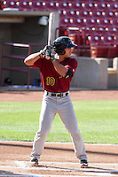 Quad Cities River Bandits outfielder Ramon Laureano (10) at bat during a Midwest League game against the Wisconsin Timber Rattlers on July 17th, 2015 at Fox Cities Stadium in Appleton, Wisconsin. Quad Cities defeated Wisconsin 4-2. (Brad Krause/Four Seam Images)