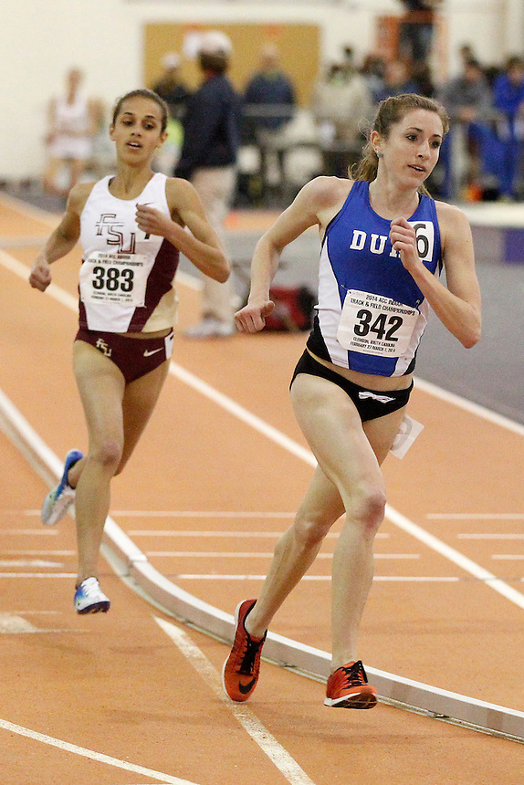 Duke's Juliet Bottorff (342) Florida State's Hannah Walker (383)