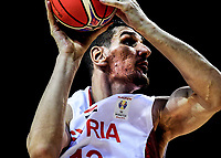 Syria's Abdulwahab Al Hamwi in action during the FIBA World Cup Asia qualifier between the New Zealand Tall Blacks and Syria at TSB Bank Arena in Wellington, New Zealand on Sunday, 2 December 2018. Photo: Dave Lintott / lintottphoto.co.nz