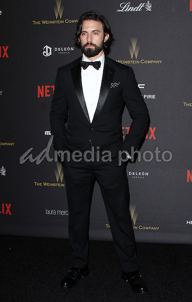 10 January 2016 - Los Angeles, California - Milo Ventimiglia. 2016 Weinstein Company & Netflix Golden Gloves After Party held at the Beverly Hilton Hotel. Photo Credit: AdMedia