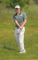 Paul Dunne (Greystones)<br /> during the 4th round of the East of Ireland Amateur Open Championship 2013 Co Louth Golf club 3/6/13<br /> Picture:  Thos Caffrey / www.golffile.ie