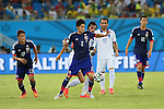 Atsuto Uchida (JPN), <br /> JUNE 19, 2014 - Football /Soccer : <br /> 2014 FIFA World Cup Brazil <br /> Group Match -Group C- <br /> between Japan 0-0 Greece <br /> at Estadio das Dunas, Natal, Brazil. <br /> (Photo by YUTAKA/AFLO SPORT)